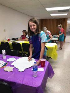 Paint Party Child