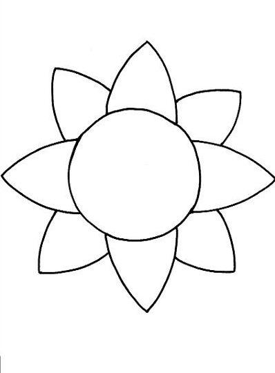 Sunflower Template