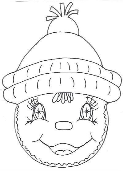 Gingerbread  Boy Template