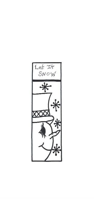 Let It Snow Template