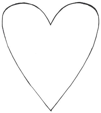 Skinny Heart Template