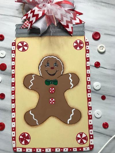 Gingerbread Mason Jar